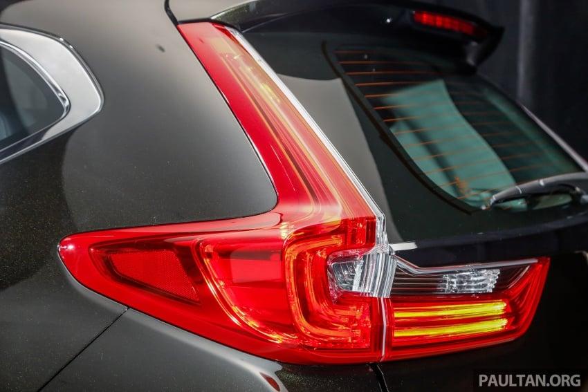 Honda CR-V 2017 dilancar di M'sia – 3 varian 1.5L turbo dan 1 varian 2.0L N/A, harga RM142k-RM168k Image #681719