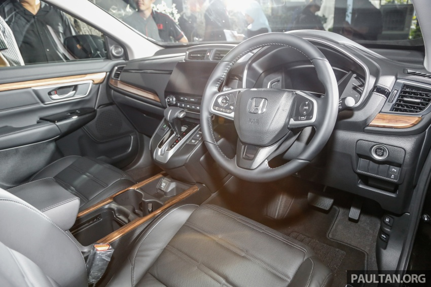 2017 Honda CR-V launched in Malaysia – three 1.5L Turbo, one 2.0L NA, priced from RM142k to RM168k Image #681918