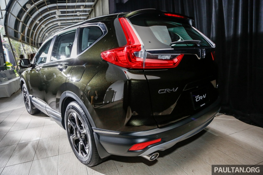 2017 Honda CR-V launched in Malaysia – three 1.5L Turbo, one 2.0L NA, priced from RM142k to RM168k Image #681900