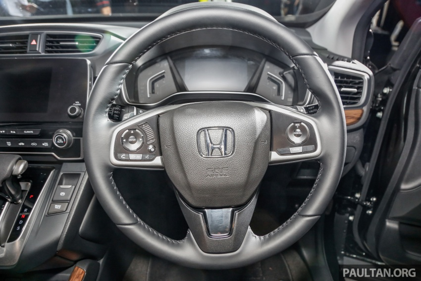 Honda CR-V 2017 dilancar di M'sia – 3 varian 1.5L turbo dan 1 varian 2.0L N/A, harga RM142k-RM168k Image #681727