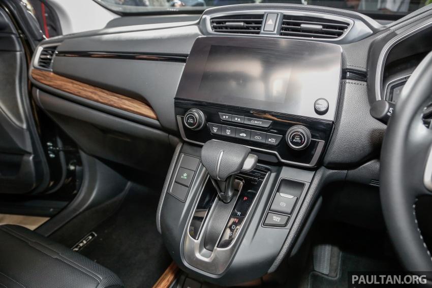 Honda CR-V 2017 dilancar di M'sia – 3 varian 1.5L turbo dan 1 varian 2.0L N/A, harga RM142k-RM168k Image #681729