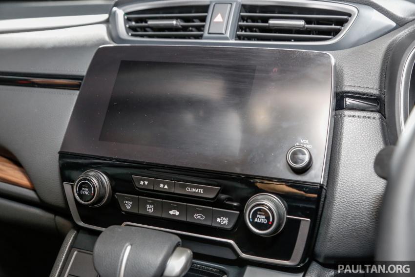 Honda CR-V 2017 dilancar di M'sia – 3 varian 1.5L turbo dan 1 varian 2.0L N/A, harga RM142k-RM168k Image #681730