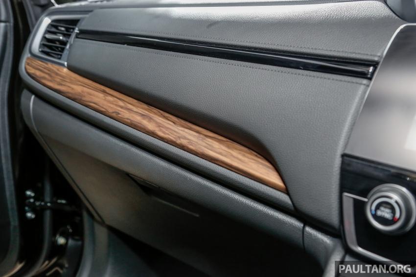 Honda CR-V 2017 dilancar di M'sia – 3 varian 1.5L turbo dan 1 varian 2.0L N/A, harga RM142k-RM168k Image #681734
