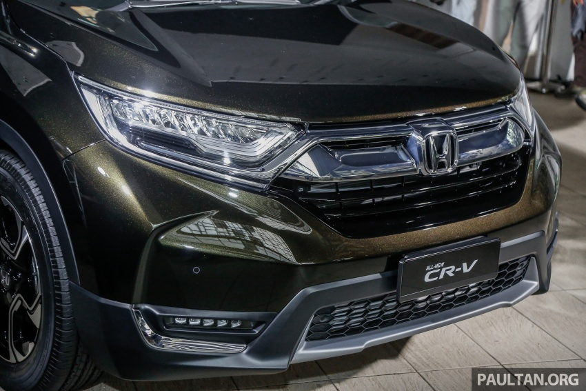 2017 Honda CR-V launched in Malaysia – three 1.5L Turbo, one 2.0L NA, priced from RM142k to RM168k Image #681901