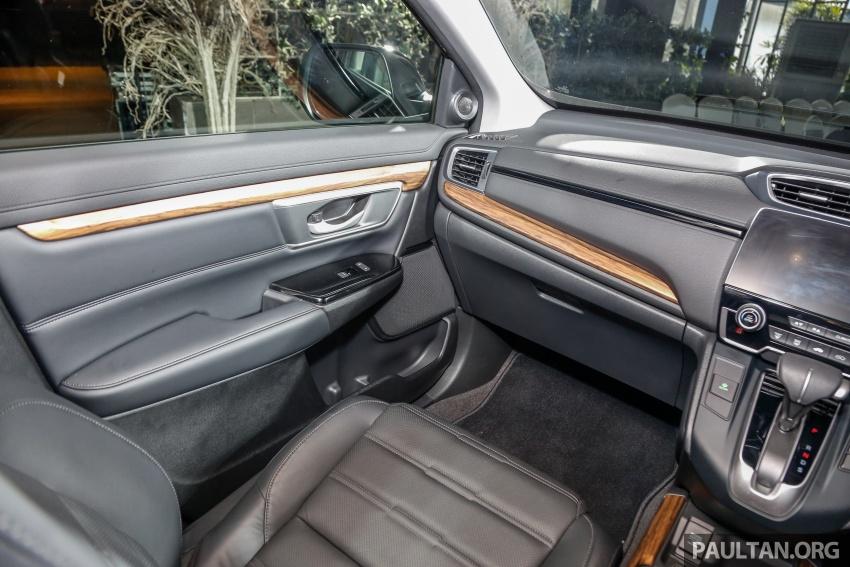 Honda CR-V 2017 dilancar di M'sia – 3 varian 1.5L turbo dan 1 varian 2.0L N/A, harga RM142k-RM168k Image #681736