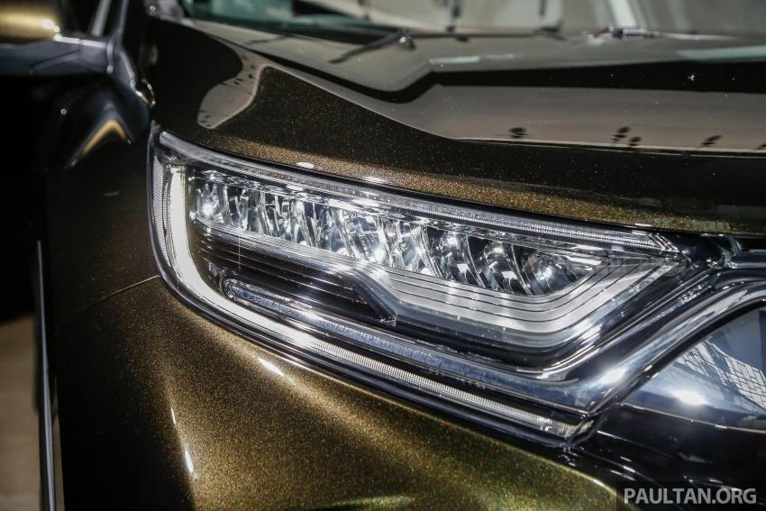 Honda CR-V 2017 dilancar di M'sia – 3 varian 1.5L turbo dan 1 varian 2.0L N/A, harga RM142k-RM168k Image #681710
