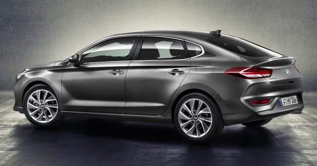Hyundai I30 Fastback U2013 Five Door Sedan Unveiled