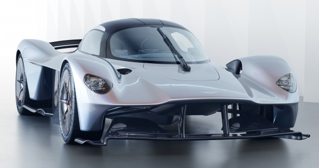 Aston Martin Valkyrie Revised Aero Plus Interior Pics