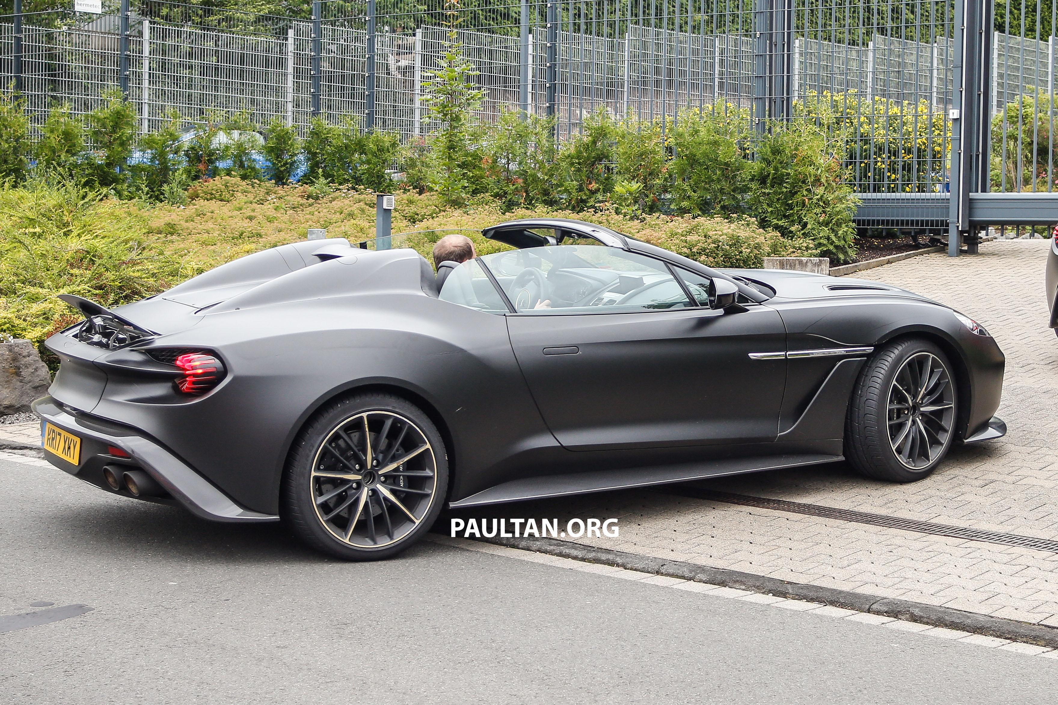 SPIED: Aston Martin Vanquish Zagato Volante and Vanquish ...