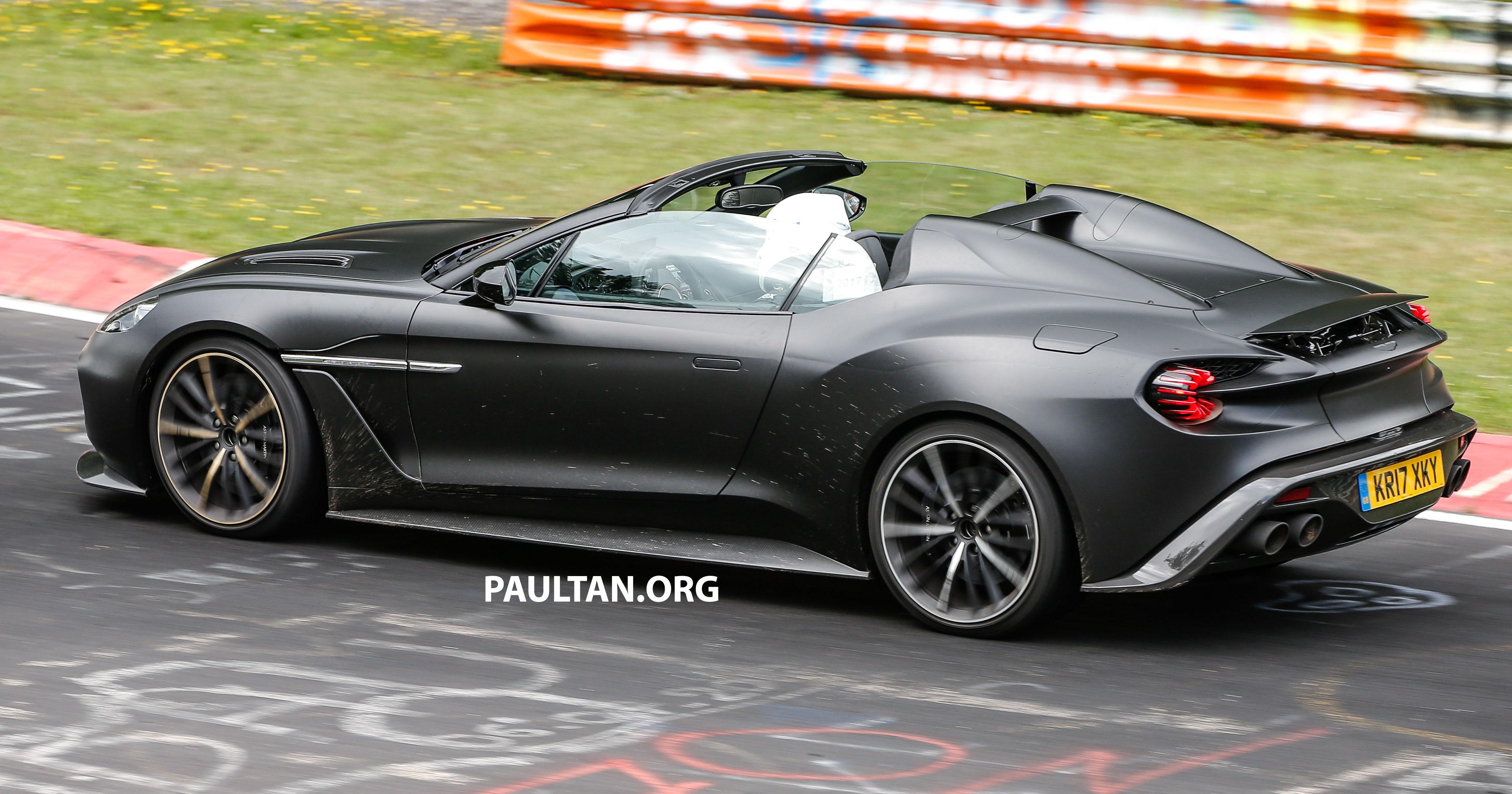 Aston Martin Vanquish Zagato Speedster 24 Paul Tan S Automotive News