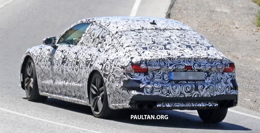 SPYSHOTS: 2018 Audi S7 reveals exterior details Image #683098
