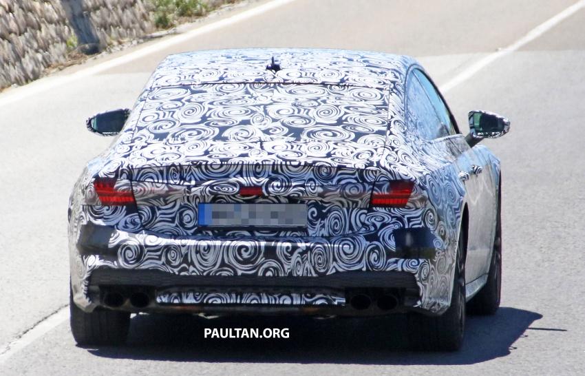 SPYSHOTS: 2018 Audi S7 reveals exterior details Image #683106