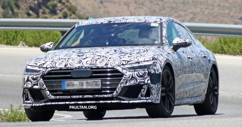 SPYSHOTS: 2018 Audi S7 reveals exterior details Image #683066