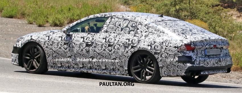 SPYSHOTS: 2018 Audi S7 reveals exterior details Image #683085