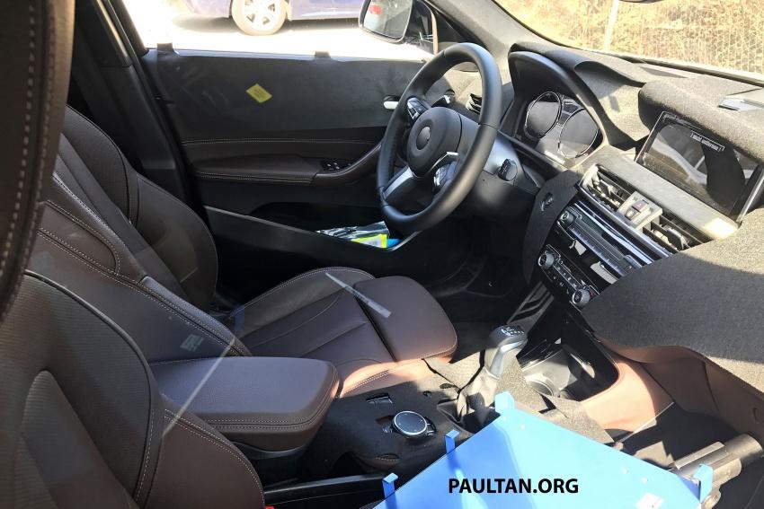 SPYSHOTS: BMW X2 shows more details, incl interior Image #684863