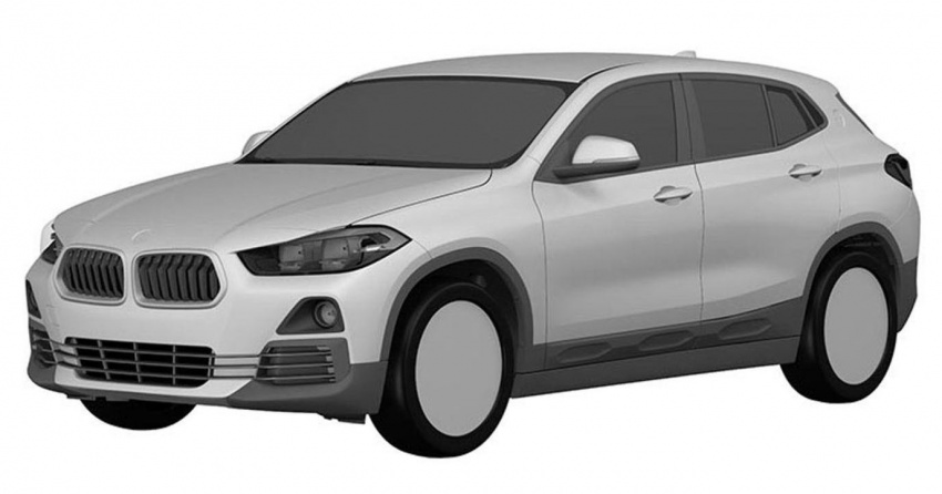 BMW X2 patent images reveal SAV's production form Image #679292