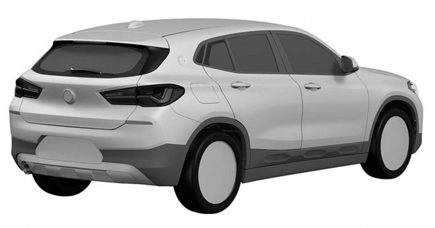BMW X2 patent images reveal SAV's production form Image #679293