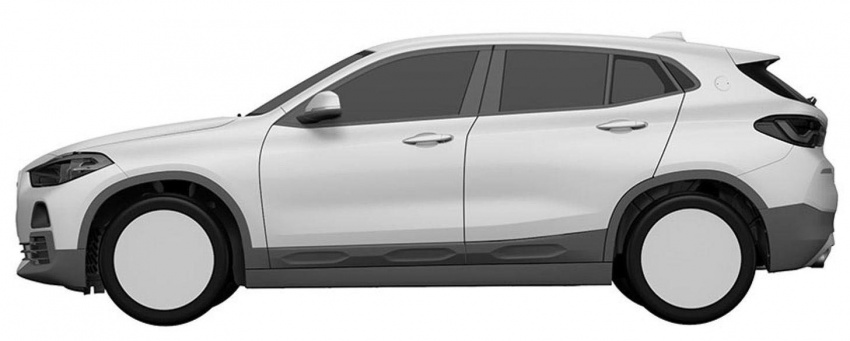 BMW X2 patent images reveal SAV's production form Image #679296