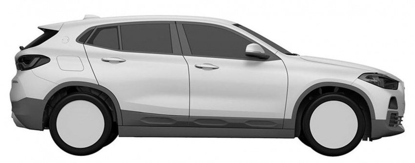 BMW X2 patent images reveal SAV's production form Image #679297