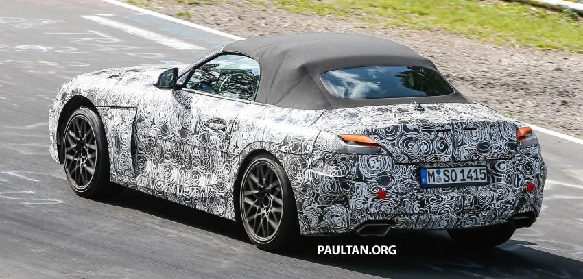 SPYSHOTS: Next BMW Z4 running around the 'Ring Image #685625