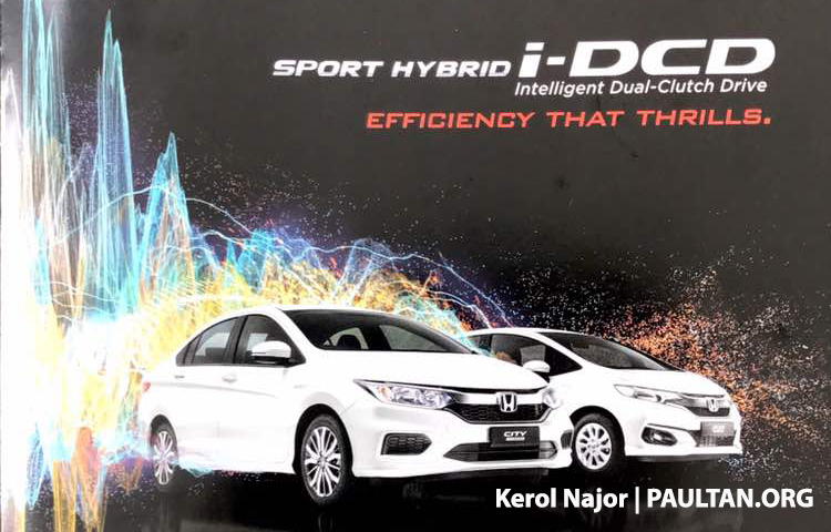 Honda City Hybrid Malaysian brochure leaked – same 1.5L i-DCD package as Jazz Hybrid, launching soon Image #685962