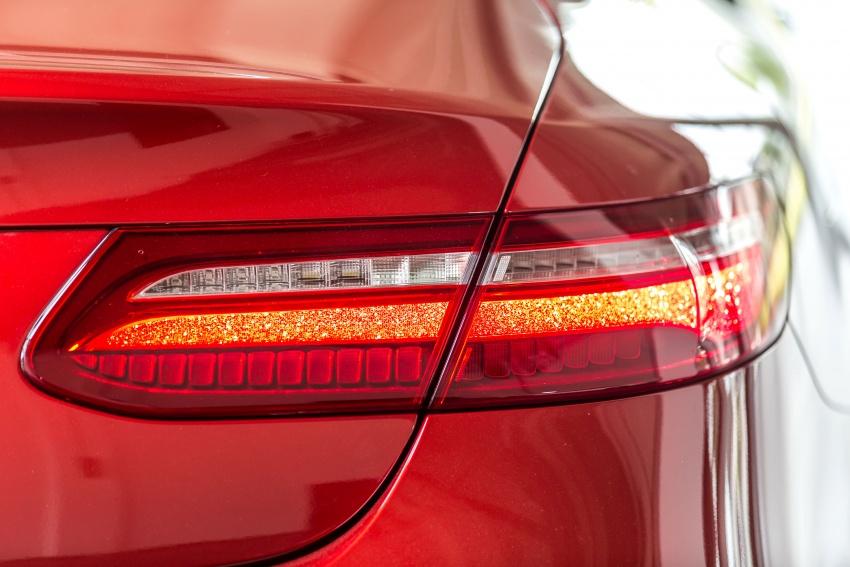 Mercedes-Benz E-Class Coupe kini dilancarkan di Malaysia – tiga varian, harga dari RM436k Image #688765