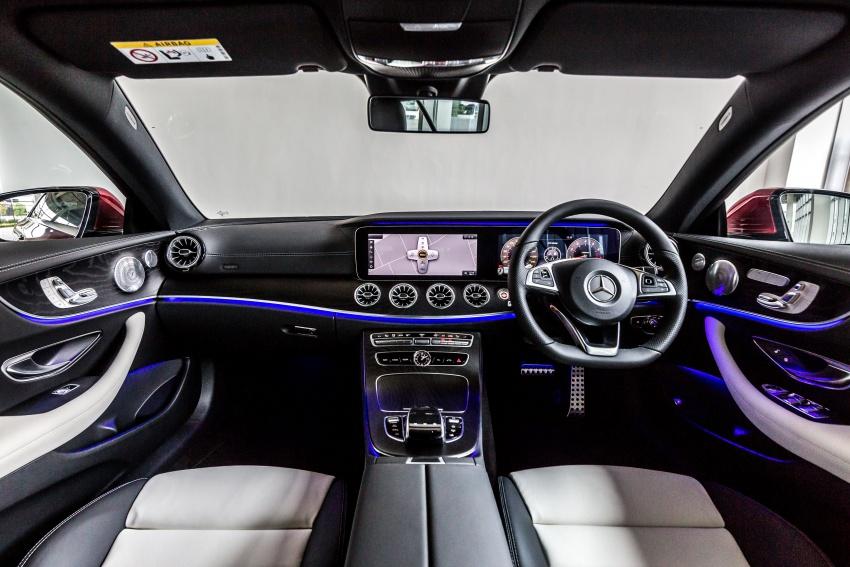 Mercedes-Benz E-Class Coupe kini dilancarkan di Malaysia – tiga varian, harga dari RM436k Image #688778