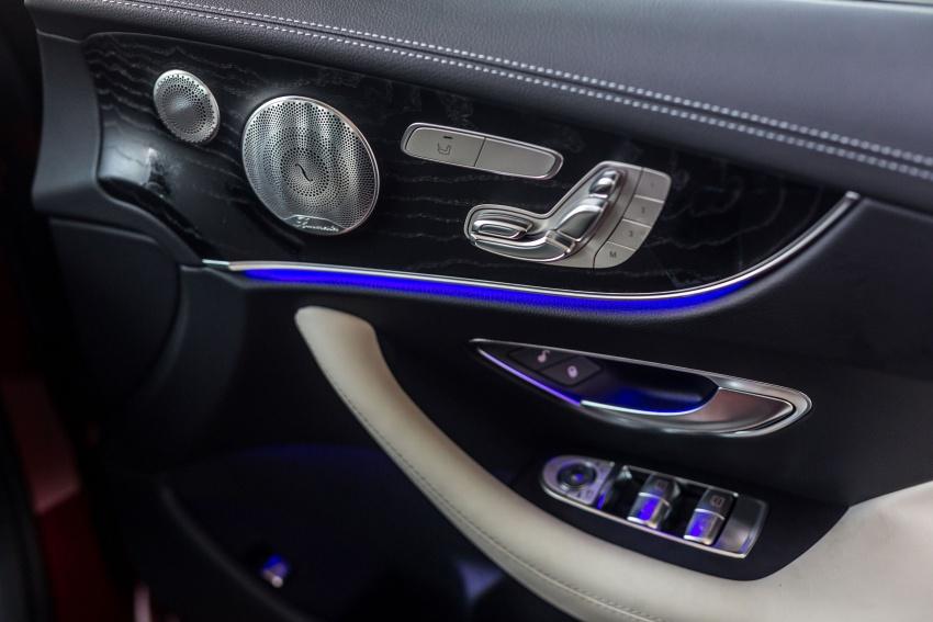 Mercedes-Benz E-Class Coupe kini dilancarkan di Malaysia – tiga varian, harga dari RM436k Image #688848