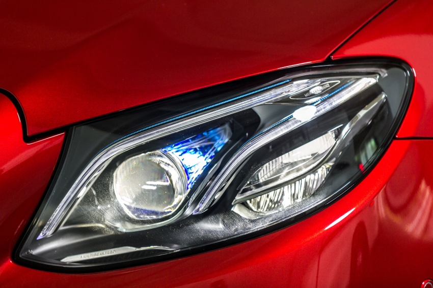 Mercedes-Benz E-Class Coupe kini dilancarkan di Malaysia – tiga varian, harga dari RM436k Image #688756