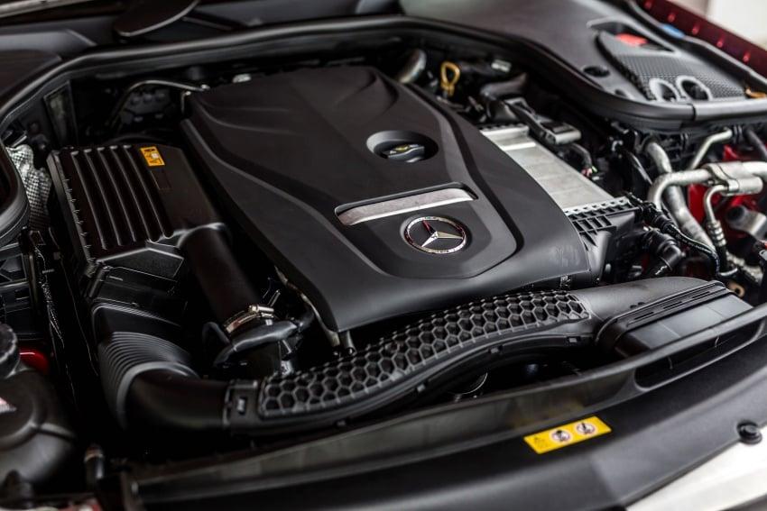 Mercedes-Benz E-Class Coupe kini dilancarkan di Malaysia – tiga varian, harga dari RM436k Image #688802