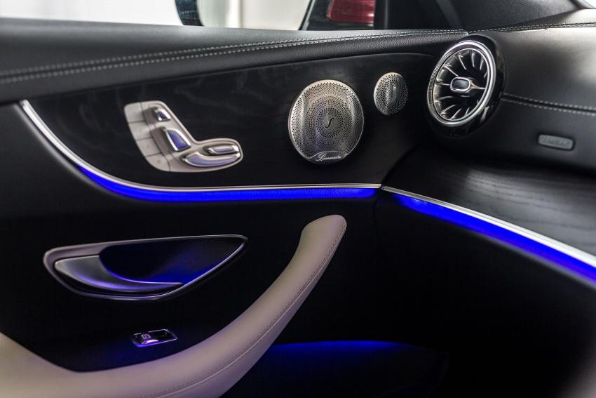 Mercedes-Benz E-Class Coupe kini dilancarkan di Malaysia – tiga varian, harga dari RM436k Image #688851