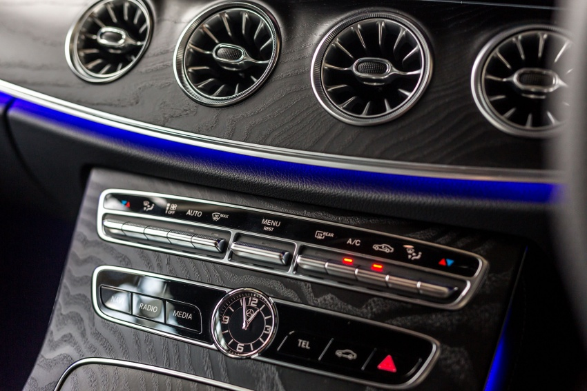 Mercedes-Benz E-Class Coupe kini dilancarkan di Malaysia – tiga varian, harga dari RM436k Image #688852