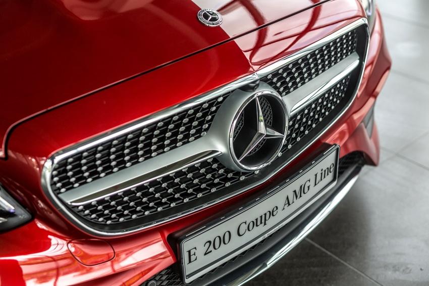 Mercedes-Benz E-Class Coupe kini dilancarkan di Malaysia – tiga varian, harga dari RM436k Image #688761