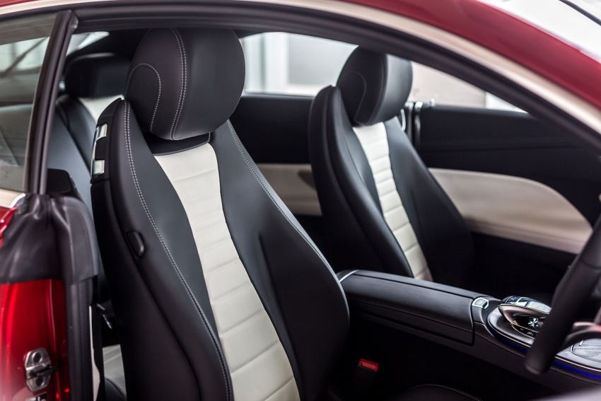 Mercedes-Benz E-Class Coupe kini dilancarkan di Malaysia – tiga varian, harga dari RM436k Image #688763