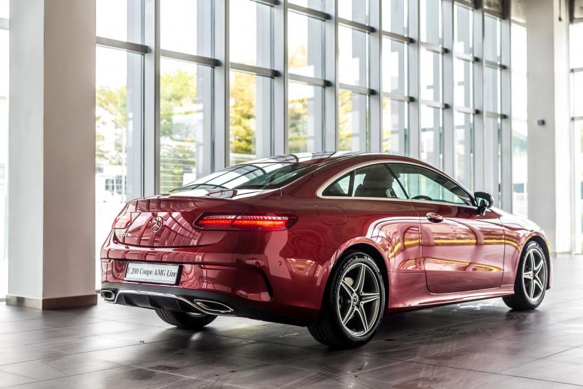 Mercedes-Benz E-Class Coupe kini dilancarkan di Malaysia – tiga varian, harga dari RM436k Image #688764