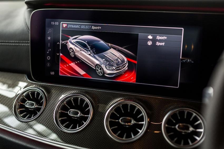 Mercedes-Benz E-Class Coupe kini dilancarkan di Malaysia – tiga varian, harga dari RM436k Image #688882