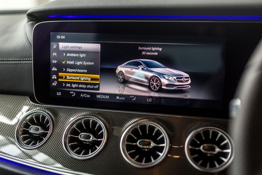 Mercedes-Benz E-Class Coupe kini dilancarkan di Malaysia – tiga varian, harga dari RM436k Image #688883