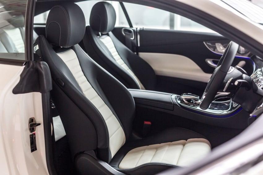 Mercedes-Benz E-Class Coupe kini dilancarkan di Malaysia – tiga varian, harga dari RM436k Image #688891