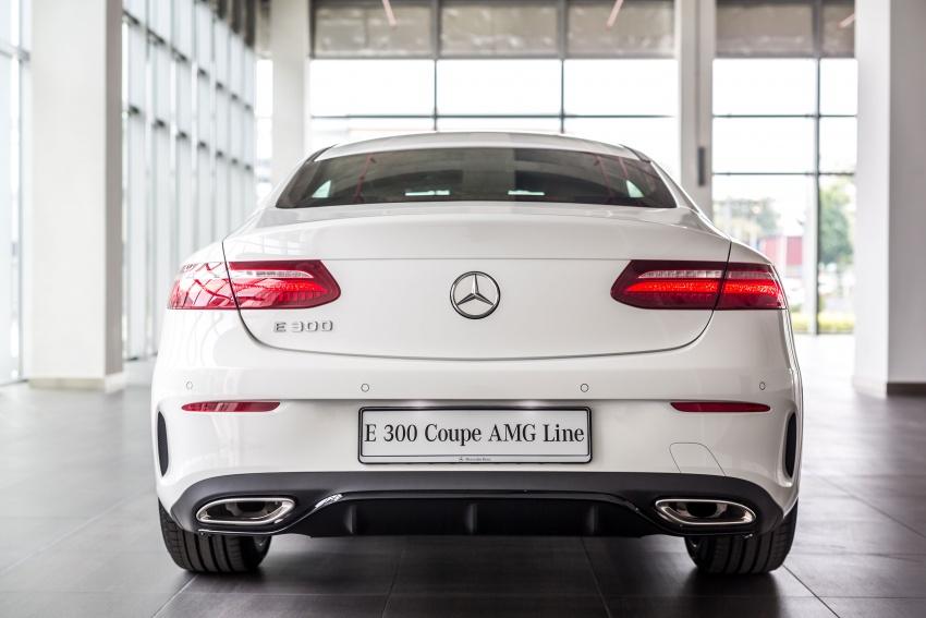Mercedes-Benz E-Class Coupe kini dilancarkan di Malaysia – tiga varian, harga dari RM436k Image #688907