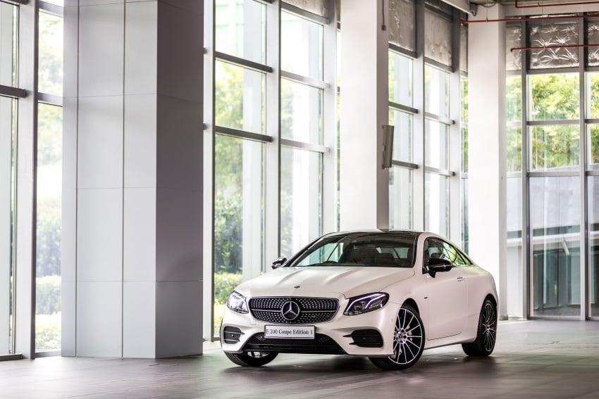 Mercedes-Benz E-Class Coupe kini dilancarkan di Malaysia – tiga varian, harga dari RM436k Image #688920