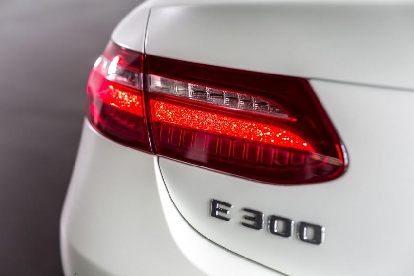 Mercedes-Benz E-Class Coupe kini dilancarkan di Malaysia – tiga varian, harga dari RM436k Image #688935