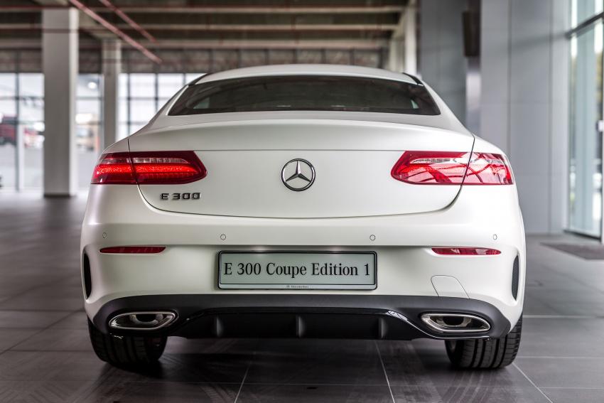 Mercedes-Benz E-Class Coupe kini dilancarkan di Malaysia – tiga varian, harga dari RM436k Image #688936