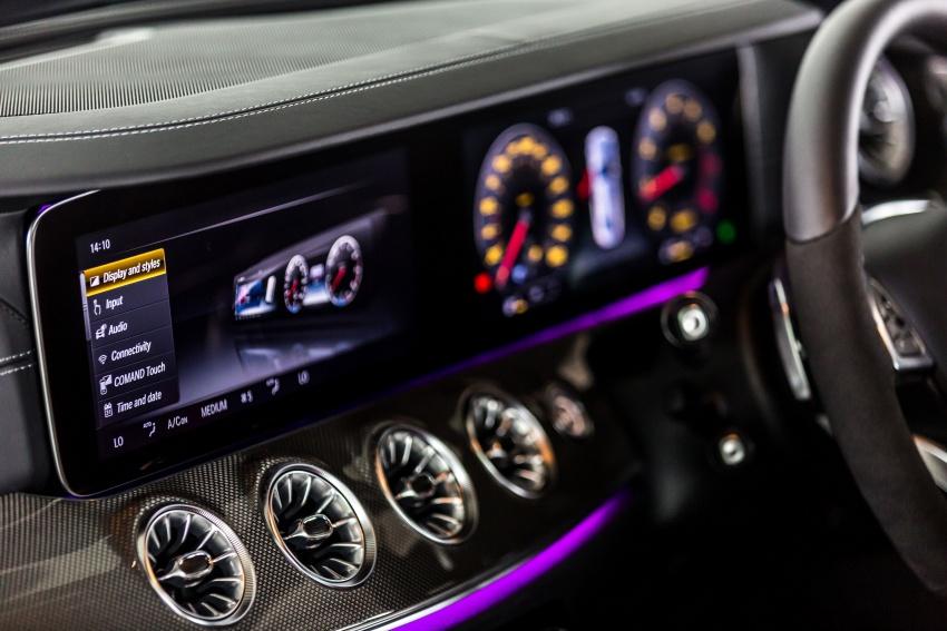 Mercedes-Benz E-Class Coupe kini dilancarkan di Malaysia – tiga varian, harga dari RM436k Image #688941
