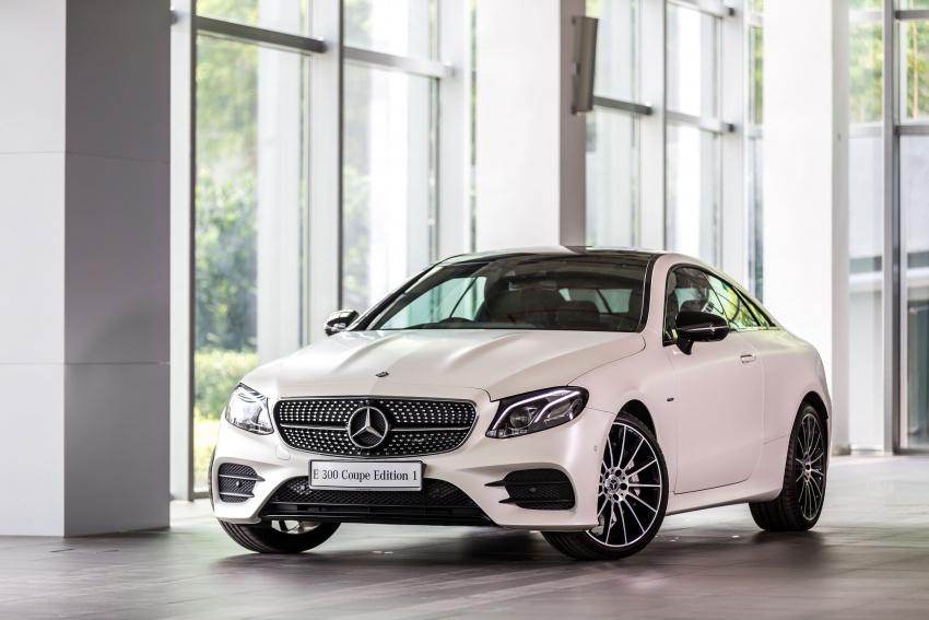 Mercedes-Benz E-Class Coupe kini dilancarkan di Malaysia – tiga varian, harga dari RM436k Image #688922