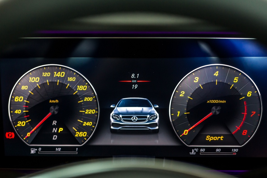 Mercedes-Benz E-Class Coupe kini dilancarkan di Malaysia – tiga varian, harga dari RM436k Image #688959