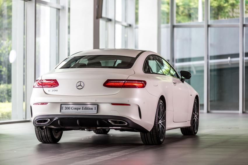 Mercedes-Benz E-Class Coupe kini dilancarkan di Malaysia – tiga varian, harga dari RM436k Image #688929