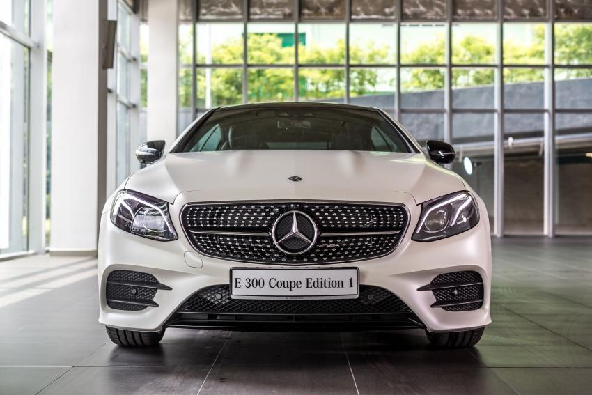 Mercedes-Benz E-Class Coupe kini dilancarkan di Malaysia – tiga varian, harga dari RM436k Image #688931