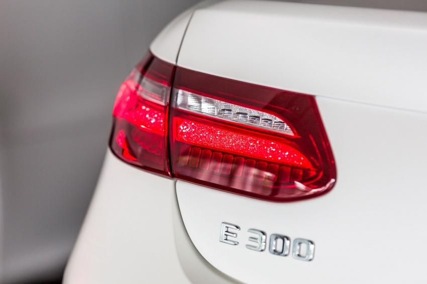 Mercedes-Benz E-Class Coupe kini dilancarkan di Malaysia – tiga varian, harga dari RM436k Image #688932