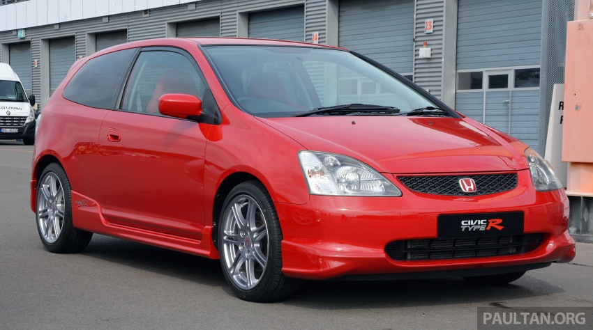 GALLERY: Honda Civic Type R – FWD King of the Ring meets past hatchback masters EP3, FN2 and FK2 Image #678818