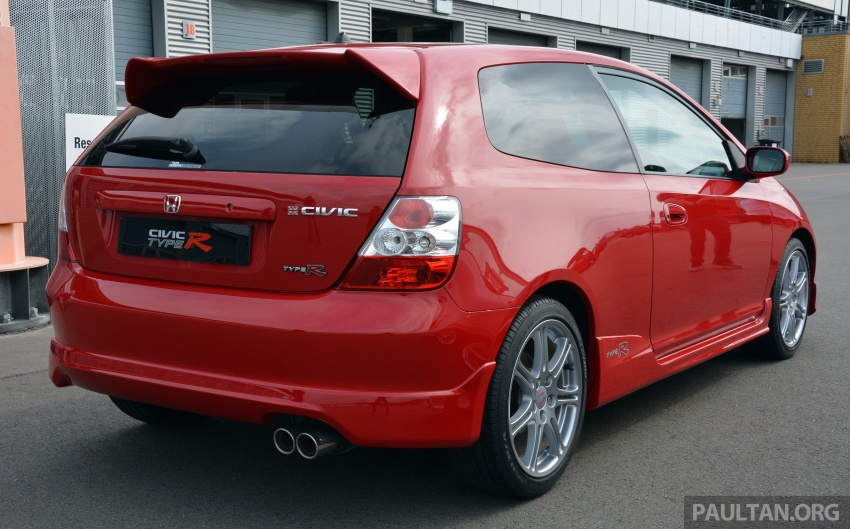 GALLERY: Honda Civic Type R – FWD King of the Ring meets past hatchback masters EP3, FN2 and FK2 Image #678822